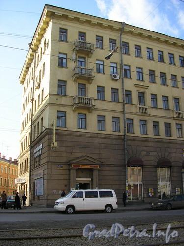 Лиговский пр. д.107, перекресток Лиговского пр. и Остропольского пер. Фото 2005 г.
