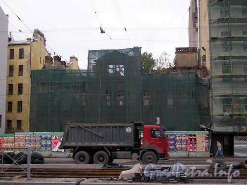 Лиговский пр. д. 127, общий вид дома со стороны Лиговского проспекта. Фото 2006 г.