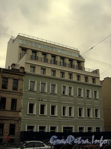 Лиговский пр. д. 150, новый дом, построенный на данном участке. Фото 2007 г.