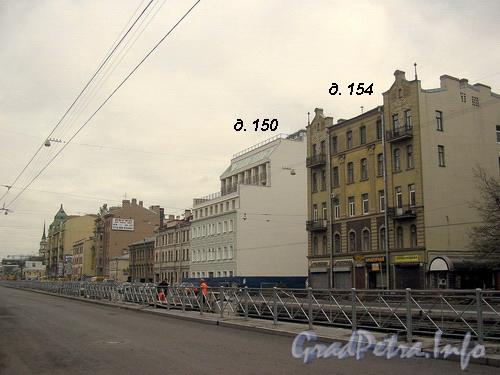 Перспектива Лиговского пр. от Обводного канала до дома 154 по Лиговскому пр. Фото 2007 г.