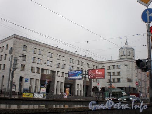 Лиговский проспект, дом 88, литера А, станция метро «Лиговский проспект». Фото 2008 г.