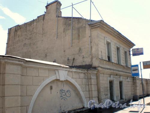 Лиговский пр.,  д. 236, фасад здания по Лиговскому проспекту. Фото 2008 г.
