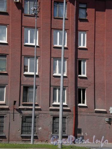 Лиговский пр., д. 289, фрагмент фасада здания по Лиговскому проспекту. Фото 2008 г.