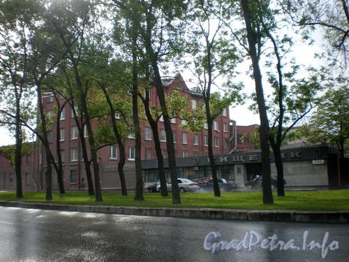 Пр. Лиговский д. 289, общий вид здания. Фото 2008 г.