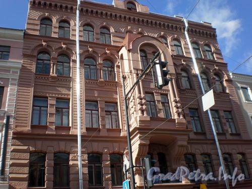 Невский пр., д. 129, общий вид здания. Фото 2008 г.