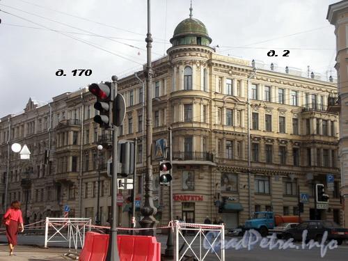 Невский пр., д. 170/Исполкомская ул., д. 2. Фото 2008 г.