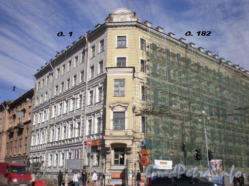 Невский пр., д. 182/ ул. Александра Невского, д. 1. Фото 2008 г.