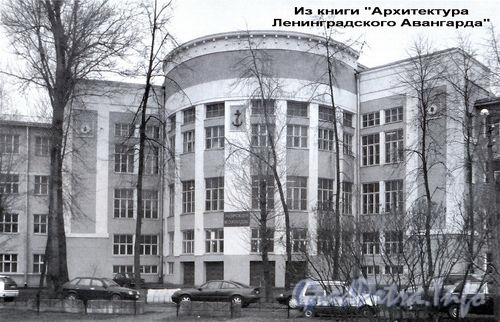 Бол. Смоленский пр., д. 36. Общий вид здания.