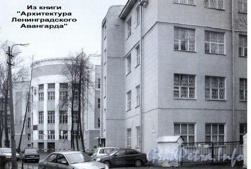Бол. Смоленский пр., д. 36. Фрагмент фасада здания.