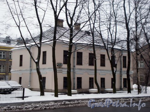 Волковский пр., д. 20. Общий вид здания. Январь 2009 г.