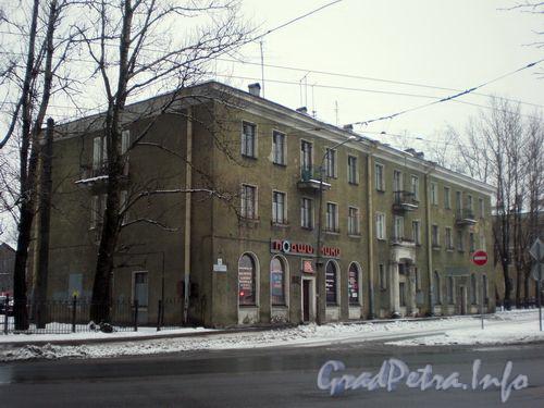 Волковский пр., д. 24. Фасад по Волковскому проспекту. Январь 2009 г.