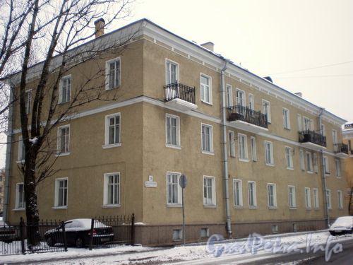Волковский пр., д. 28. Фасад по Волковскому проспекту. Январь 2009 г.