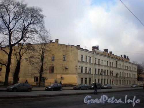 Лиговский пр., д. 293. Общий вид здания. Февраль 2009 г.
