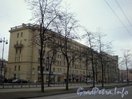 Московский пр., д. 167. Общий вид здания. Февраль 2009 г.