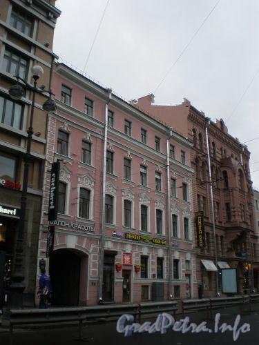 Невский проспект, д. 131. Общий вид здания. Ноябрь 2008 г.