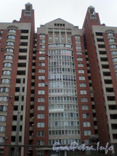 Ленинский пр., д. 149, к. 1. Фасад здания по Ленинскому проспекту. Март 2009 г.