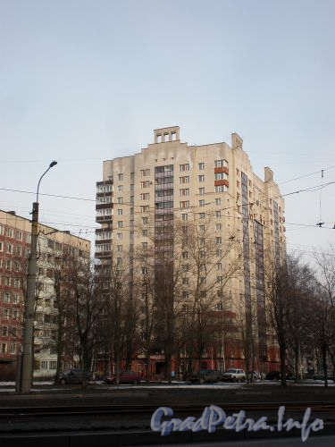 Тихорецкий пр., д. 33. Общий вид здания. Апрель 2009 г.