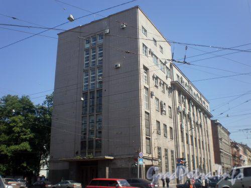 Литейный пр., дом 6а. Общий вид здания. Фото июнь 2008 г.