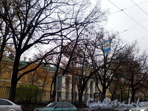 Литейный пр., д. 56. Мариинская больница. Центральный корпус. Фото октябрь 2008 г.