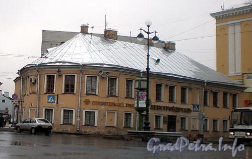 Невский пр., д. 177. Общий вид здания. Фото октябрь 2008 г.