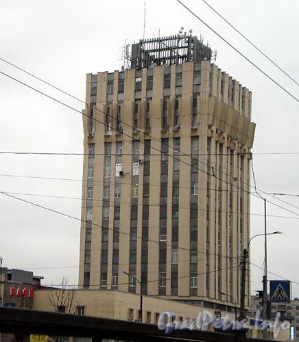 Пр. Просвещения, д. 85. Башня здания ОАО «НИИ Электромера» (ВНИИЭП ). Фото ноябрь 2008 г.