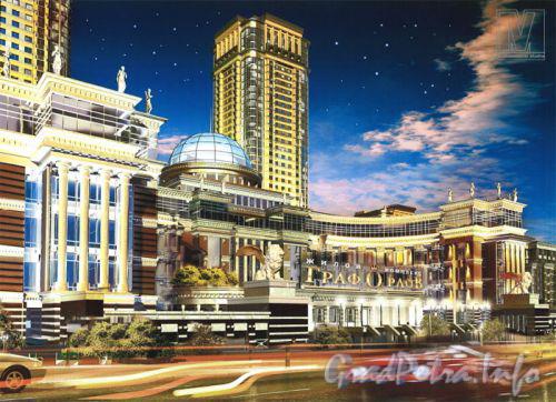 Московский проспект, дом 183-185. Жилой комплекс «Граф Орлов». Фото с сайта «Архитектурная студия M4».