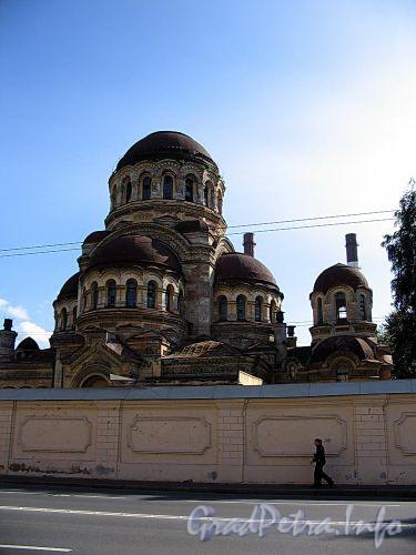 Большой пр. В.О., д. 100. Храм Милующей Божьей Матери. Фото сентябрь 2009 г.