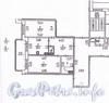 Пр. Космонавтов, д. 61, корп. 2. Планировка двухкомнатной квартиры.