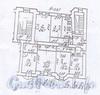 Каменноостровский пр., д. 24. Планировка квартиры.  Фото 2011 г.