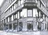 Невский пр., д. 26 / Мал. Конюшенная ул., д. 16. Фрагмент фасада. Фото 1913 г. (из книги «Невский проспект. Дом за домом»)