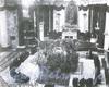 Траурное оформление собора Святой Екатерины для службы по эрцгерцогу Францу-Фердинанду. Фото 1914 г. (из книги «Невский проспект. Дом за домом»)