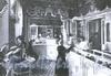 Невский пр., д. 32. Интерьер Первой женской аптеки A. Б. Лесневской. Фото 1914 г. (из книги «Невский проспект. Дом за домом»)