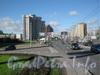 Перспектива проспекта Славы от Невского путепровода в сторону Бухарестской улицы. Фото 2011 г.