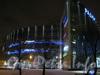 Здание ТРК «Радиус» и павильон станции метро Волковская в нём. Фото 10 января 2012 года ранним утром.
