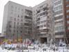 Пр. Ветеранов, дом 160. Вид со двора (часть дома в сторону ул. Лётчика Пилютова). Фото январь 2012 г.