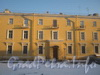 Пр. Стачек, дом 158 (правое крыло). Вид от дома 172 по пр. Стачек. Фото январь 2012 г.
