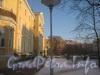 Пр. Стачек 158, 156. Двор с прудом. Фото январь 2012 г.