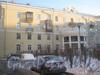 Пр. Стачек, дом 150. Фасад жилого дома со двора. Фото январь 2012 г.