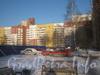 Пр. Маршала Жукова, 43, корп. 1. Крыло дома параллельно Ленинскому пр. Фото январь 2012 г.