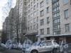 Пр. Ветеранов, дом 141, корп. 1. Фасад жилого дома со двора. Фото январь 2012 г.