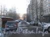 Проезд вдоль дома 141, корп. 1 по пр. Ветеранов. Вид от 2-Комсомольской ул. в сторону ул. Пограничника Гарькавого. Фото январь 2012 г.
