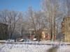 Пр. Народного ополчения, дом 247, корп. 2. Фото с трамвайного кольца «Сосновая поляна». Фото январь 2012 г.