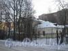 Пр. Ветеранов, дом 141, корп.  2. Вид от въезда на территорию дома 141к3. Фото февраль 2012 г.