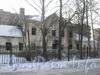 Пр. Ветеранов, дом 141, корп. 2. Фасад сгоревшего дома со стороны Добрушской ул. Фото февраль 2012 г.