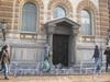 Лиговский пр., дом 62. Особняка Ф. К. Сан-Галли, центральный вход. Фото февраль 2012 г.
