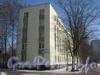 Пр. Народного ополчения, дом 243, корп. 1. Торец дома и табличка с его номером. Фото февраль 2012 г.