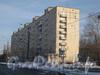 Ириновский пр., дом 37, корп. 1. Общий вид дома с Ириновского пр. Фото февраль 2012 г.