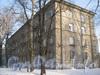 Ириновский пр., дом 37, корп. 2. Общий вид дома с 5-Жерновской ул. Фото февраль 2012 г.