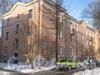 Ириновский пр., дом 41, корп. 2. Общий вид со стороны проезда к дому 58 по ул. Коммуны. Фото февраль 2012 г.