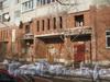 Ленинский пр., дом 95, корп. 1. Парадные дома. Фото февраль 2012 г.